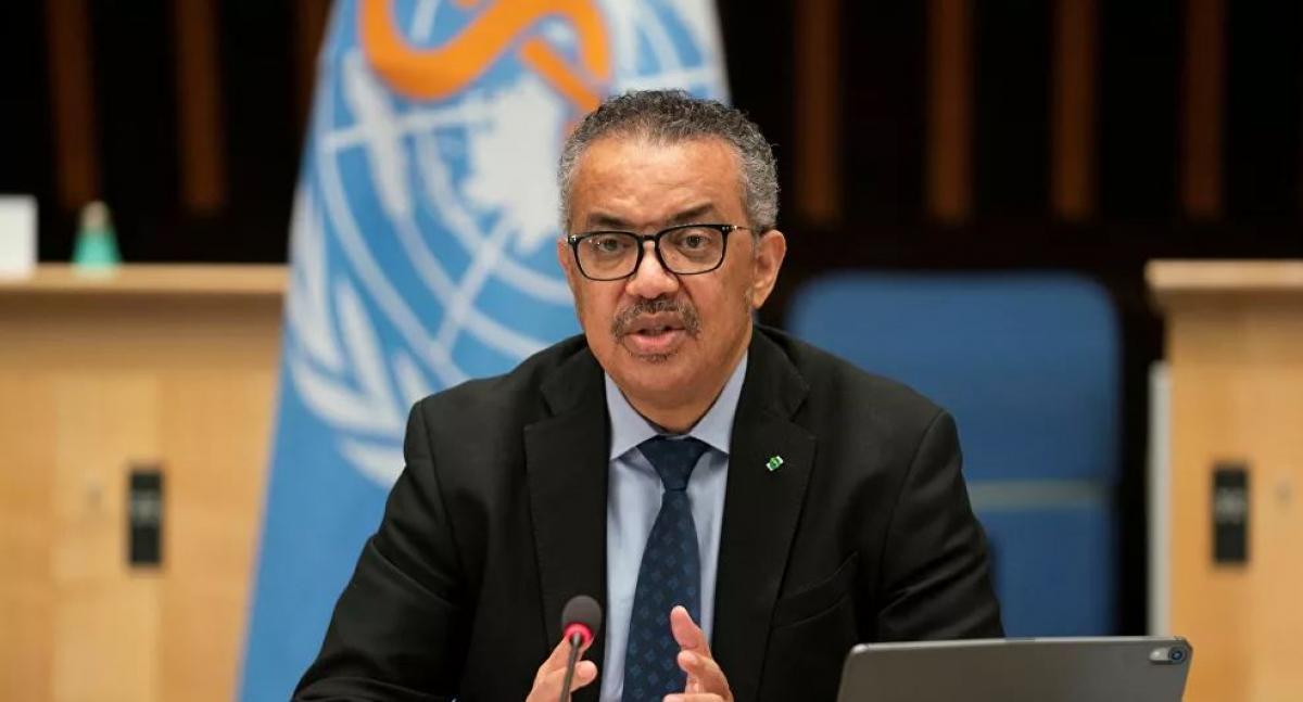 Tổng giám đốc Tổ chức Y tế thế giới (WHO) Tedros Adhanom Ghebreyesus. Ảnh: Reuters