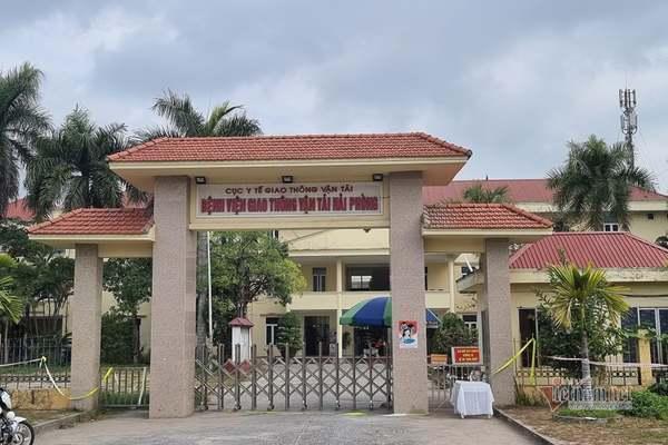 Bệnh viện tại Hải Phòng, nơi làm việc của 2 điều dưỡng nhiễm Covid-19.