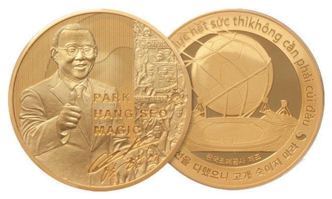 Kỷ niệm chương của HLV Park Hang Seo