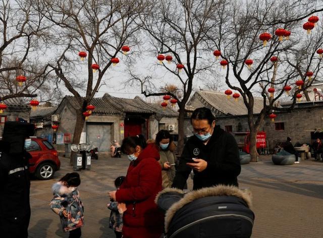 Người dân Bắc Kinh (Trung Quốc) đón Tết Nguyên đán (Nguồn: Reuters)