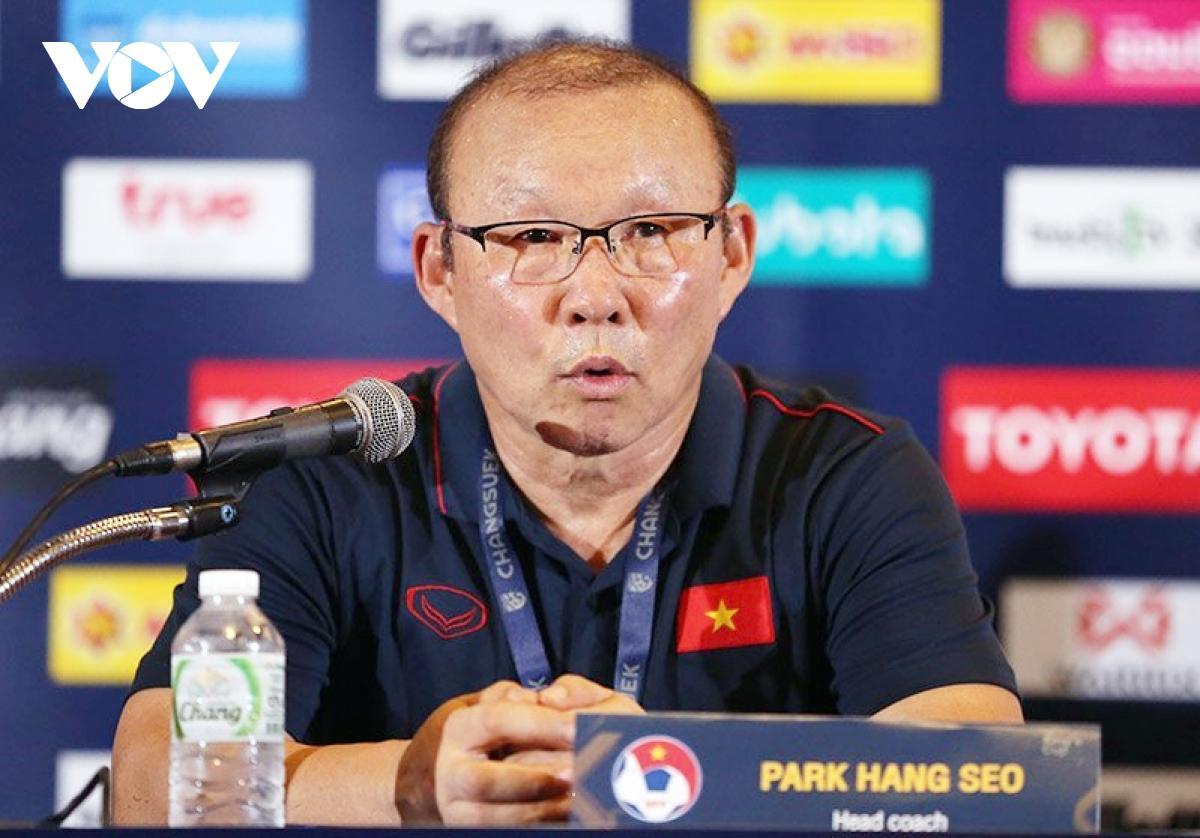 Hợp đồng giữa Liên đoàn bóng đá Việt Nam và HLV Park Hang Seo có giá trị đến 31/1/2022.