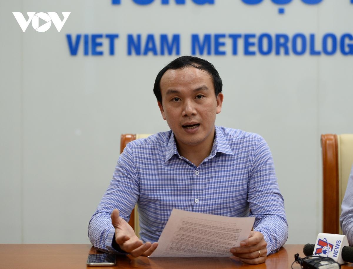 Ông Hoàng Phúc Lâm – Phó Giám đốc Trung tâm KTTV Quốc gia.