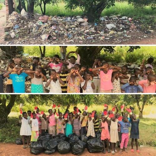 """Các em nhỏ đã có một ngày trải nghiệm tuyệt với với """"thách thức rác thải""""."""