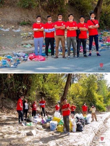 #Trashtag ở Nepal