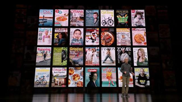   Apple News+ được tích hợp nội dung hơn 300 tạp chí hàng đầu thế giới ở nhiều lĩnh vực khoa học, công nghệ, tin tức, giải trí...  