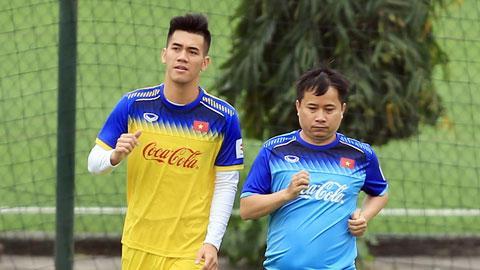 Tiến Linh tiếc nuổi rời đội tuyển do chấn thương.
