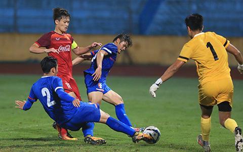 U23 Việt Nam có thế trận áp đảo trước Đài Loan