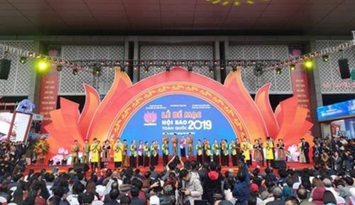 Lễ Bế mạc Hội Báo toàn quốc 2019.