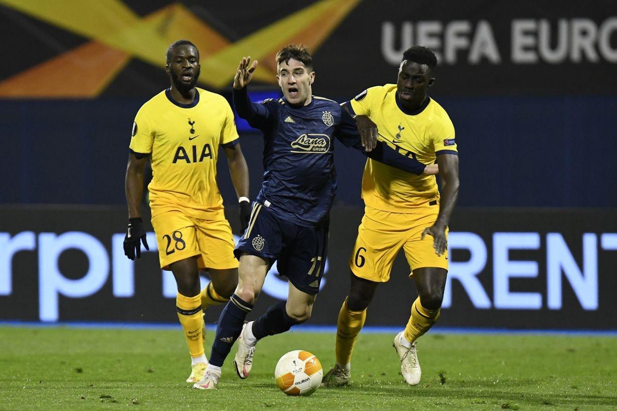 Tiền đạo Orsic lập hat-trick giúp Dinamo Zagreb có cuộc lội ngược dòng ấn tượng. (Ảnh: Getty).