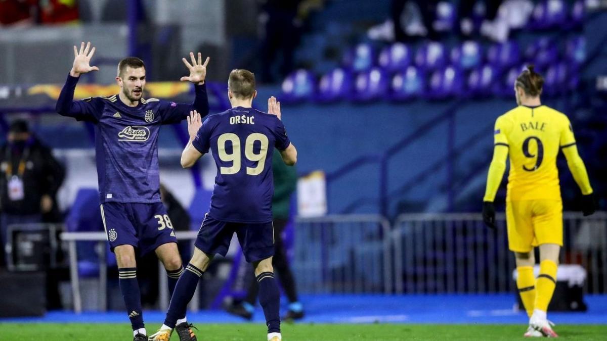 Tottenham bị loại khỏi Europa League sau trận đấu thất vọng. (Ảnh: Getty).