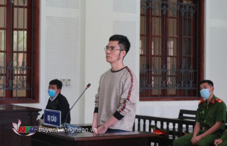 Bị cáo Bùi Hữu Thắng tại phiên tòa