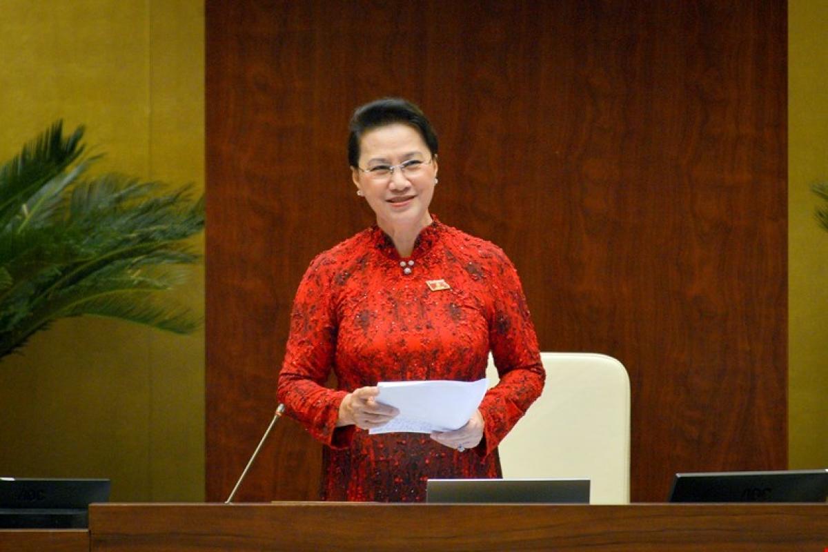 Bà Nguyễn Thị Kim Ngân để lại ấn tượng khi điều hành các phiên làm việc của Quốc hội khoá XIV