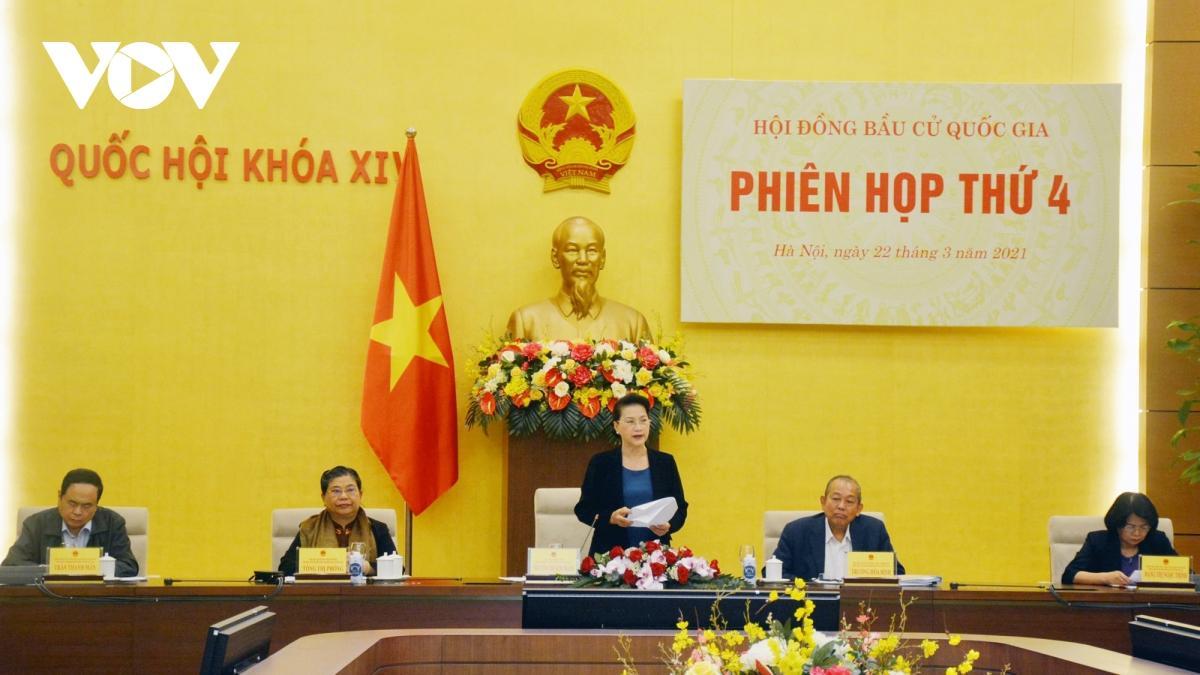 Chủ tịch Quốc hội Nguyễn Thị Kim Ngân phát biểu chỉ đạo.