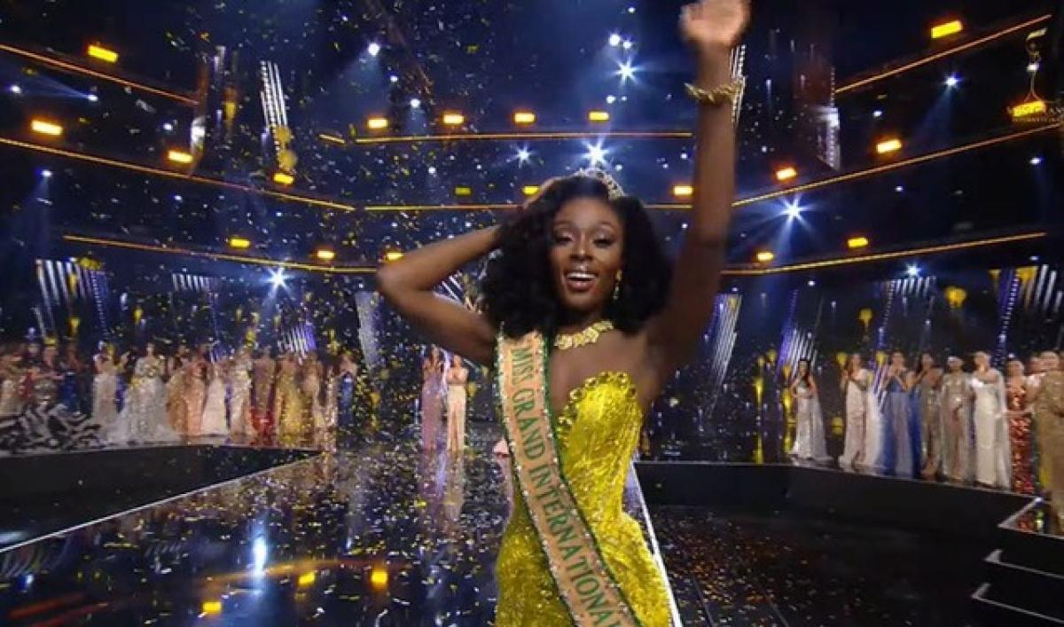 Người đẹp Mỹ đăng quang.