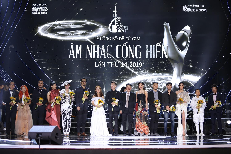 Lễ trao giải diễn ra tối 16/4 là một minh chứng cho sự chuyển động của thị trường âm nhạc năm qua đang theo hướng tích cực.