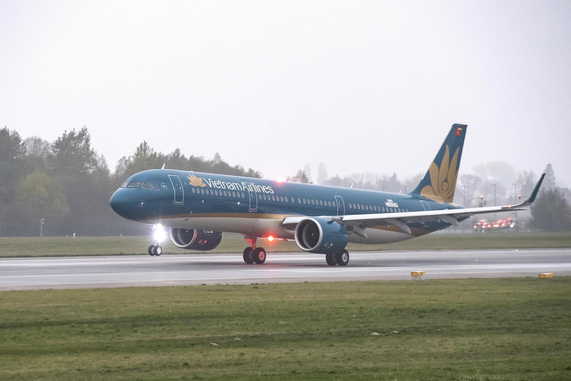 Vietnam Airlines tăng thêm tần suất các chuyến bay giữa Hà Nội - Vinh và khai thác đường bay Đà Nẵng - Đà Lạt bằng máy bay Airbus A321