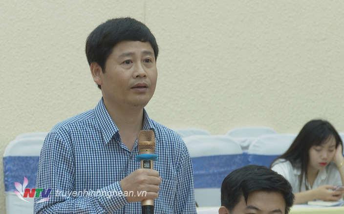 Nhà báo Trần Minh Ngọc - Phó Giám đốc Đài PT-TH Nghệ An: Việc giải phóng mặt bằng chậm dẫn đến việc hoàn thành chậm tiến độ của các dự án, ảnh hưởng đến đời sống dân sinh.
