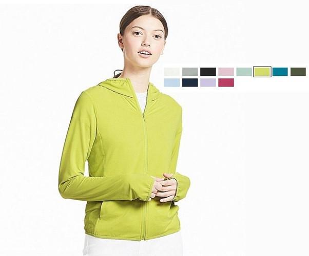 Các chất liệu như cotton, jeans, vải Polyester có độ bóng cao, vải lụa satin là những chất liệu áo chống nắng cực tốt vì nó phản xạ lại các bức xạ tử ngoại.