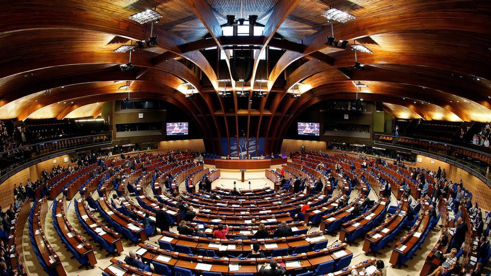 Một phiên họp của Ủy hội châu Âu.