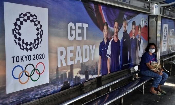 Olympic Tokyo có thể là kỳ Thế vận hội đầu tiên bị hủy trong thế kỷ 21. Ảnh: AFP.