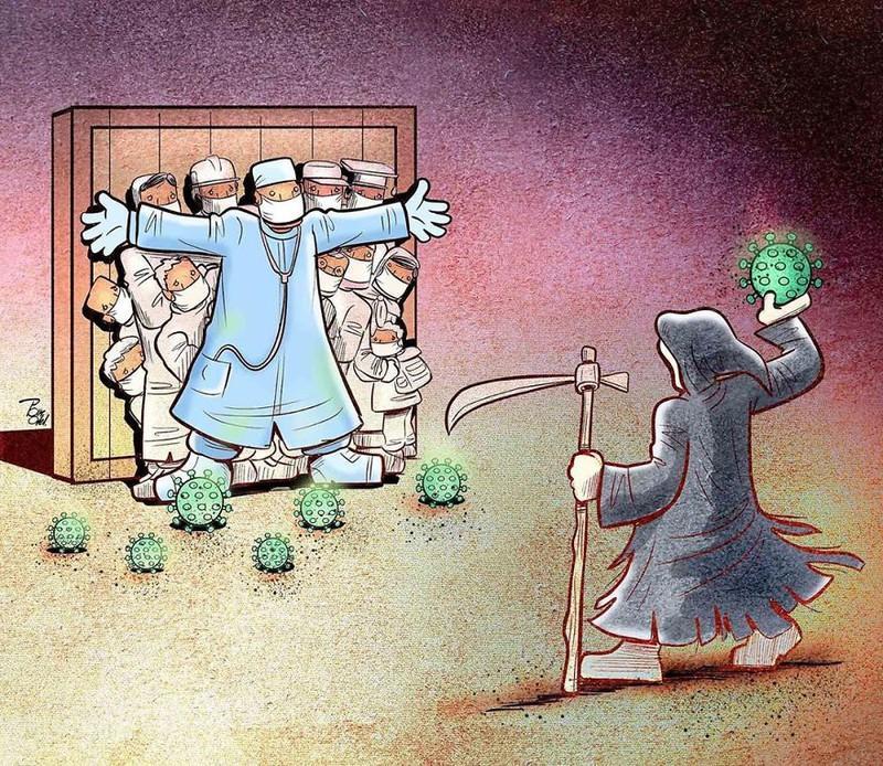 Đội ngũ bác sĩ tuyến đầu phải chiến đấu với thần chết để bảo vệ các bệnh nhân của mình.
