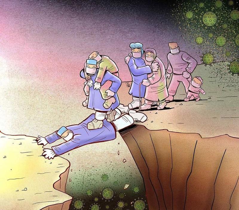 Có những bác sĩ phải hy sinh bản thân mình để bệnh nhân được sống.