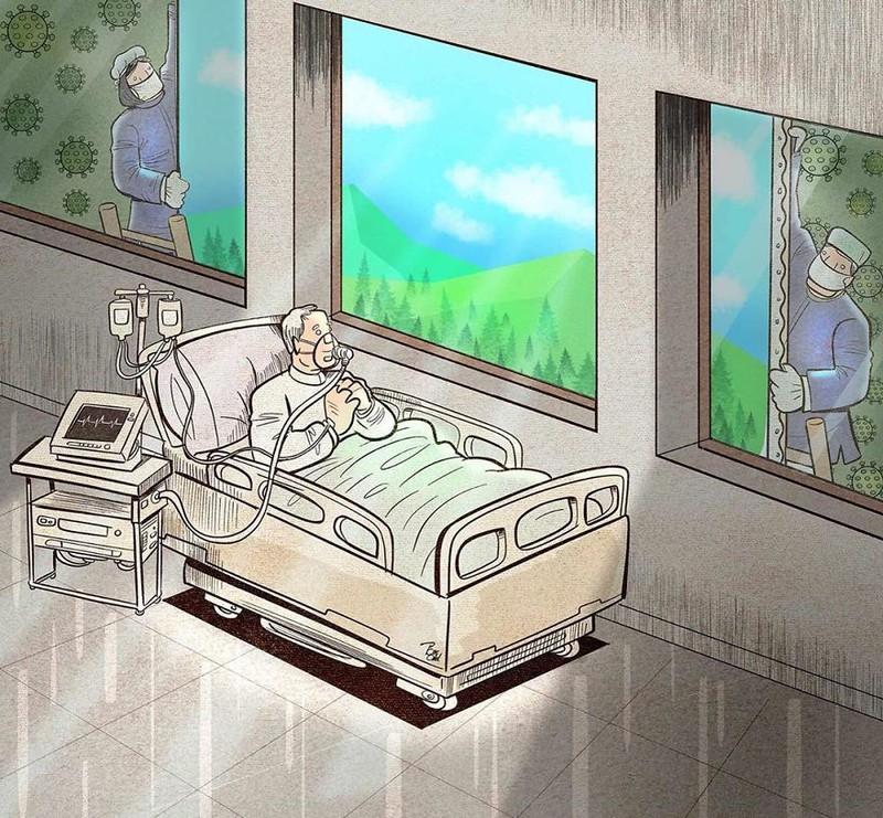 Họ vẽ nên bức tranh lạc quan cho mỗi bệnh nhân đang điều trị.