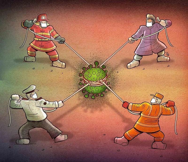 Đội ngũ chống dịch sẽ đẩy lùi virus corona.