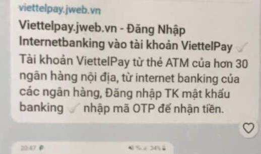 Một fanpage giả mạo Viettel trên facebook. (Ảnh chụp màn hình)