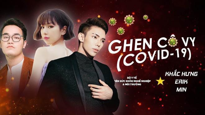 Bộ ba Khắc Hưng, Min và Erik tiếp tục cho ra mắt phiên bản tiếng Anh của ca khúc Ghen Cô Vy.