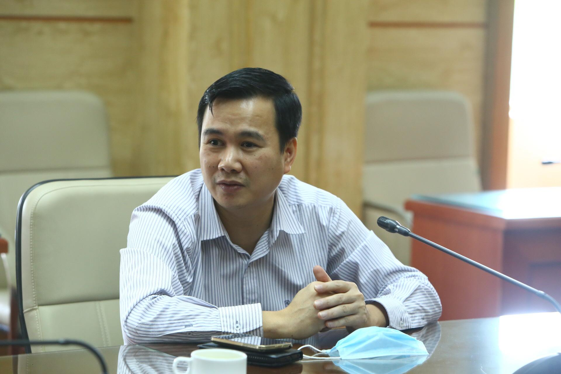 Thứ trưởng Bộ KH&CN Bùi Thế Duy.
