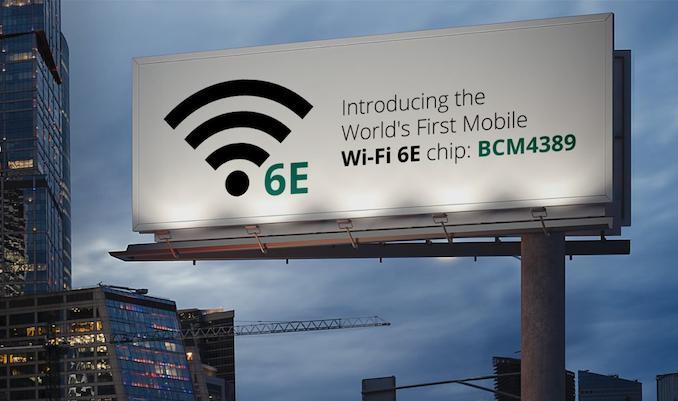 Broadcom đã giới thiệu chip di động đầu tiên hỗ trợ Wi-Fi 6E, sắp tới là các hãng Qualcomm và Intel.