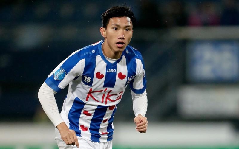 Văn Hậu mới được ra sân đúng 1 trận cho đội 1 ở Cúp Quốc gia Hà Lan (Ảnh: Getty).