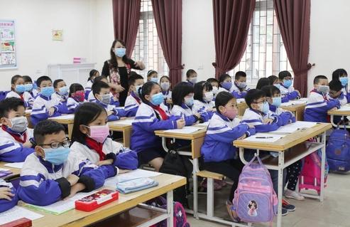 Học sinh Tiểu học Trung Đô, TP Vinh