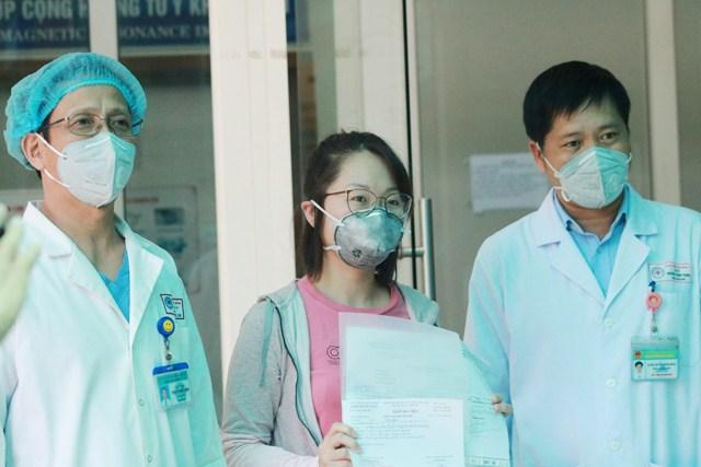 Bệnh nhân được công bố khỏi bệnh tại Bệnh viện Đà Nẵng.