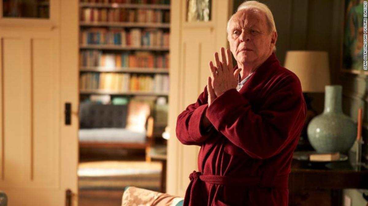 Anthony Hopkins xuất sắcgiành giải Nam diễn viên chính xuất sắc với The Father.
