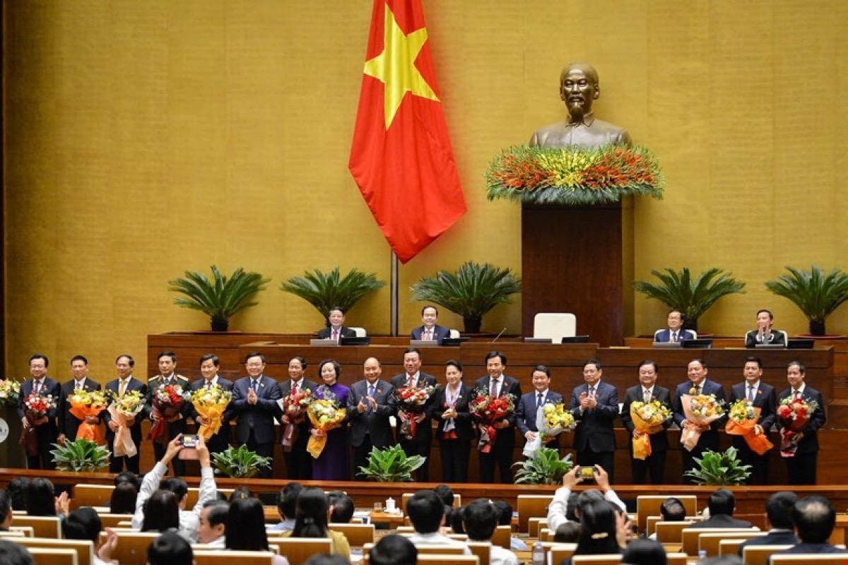 Nhiều chức danh Nhà nước đã được Quốc hội kiện toàn tại Kỳ họp 11