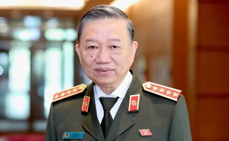 Bộ trưởng Công an, Đại tướng Tô Lâm ứng cử Quốc hội khóa XV khối Chính phủ.