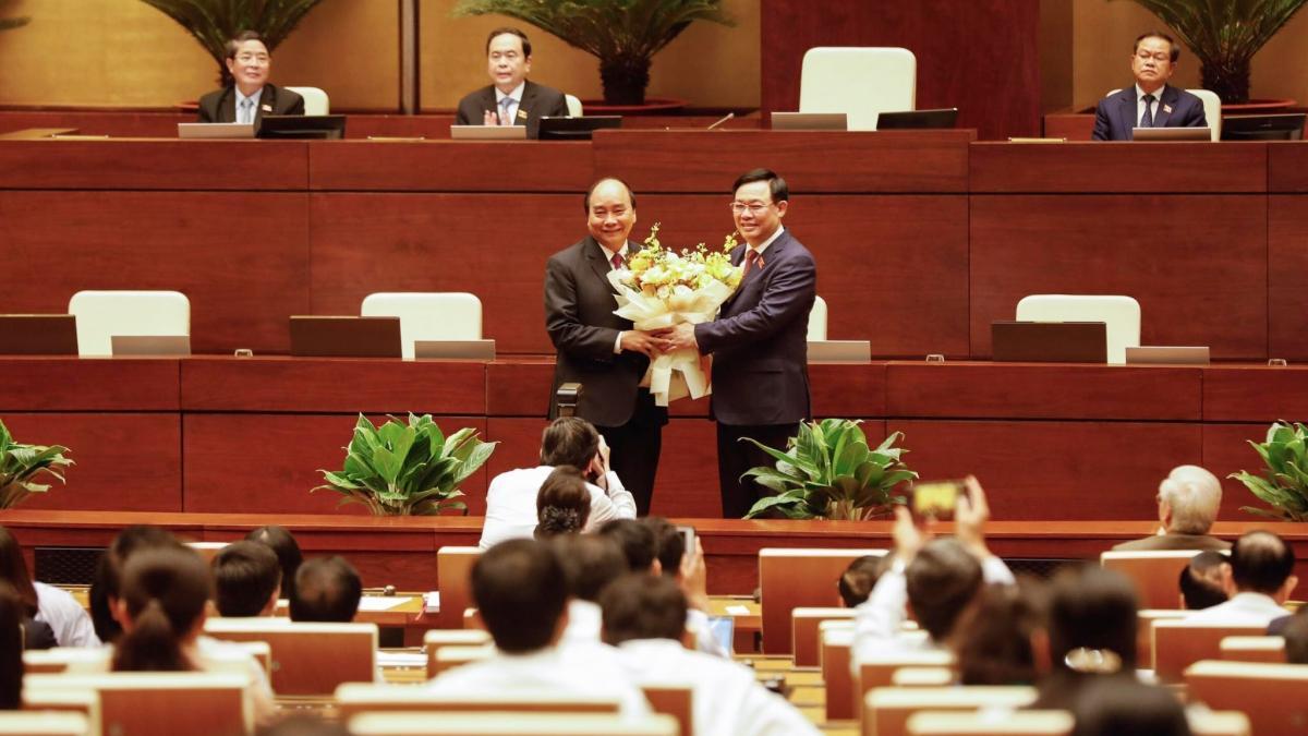Ông Nguyễn Xuân Phúc đã đượcmiễn nhiệmchức vụ Thủ tướng Chính phủ và đề cử giữ chức Chủ tịch nước thay ông Nguyễn Phú Trọng