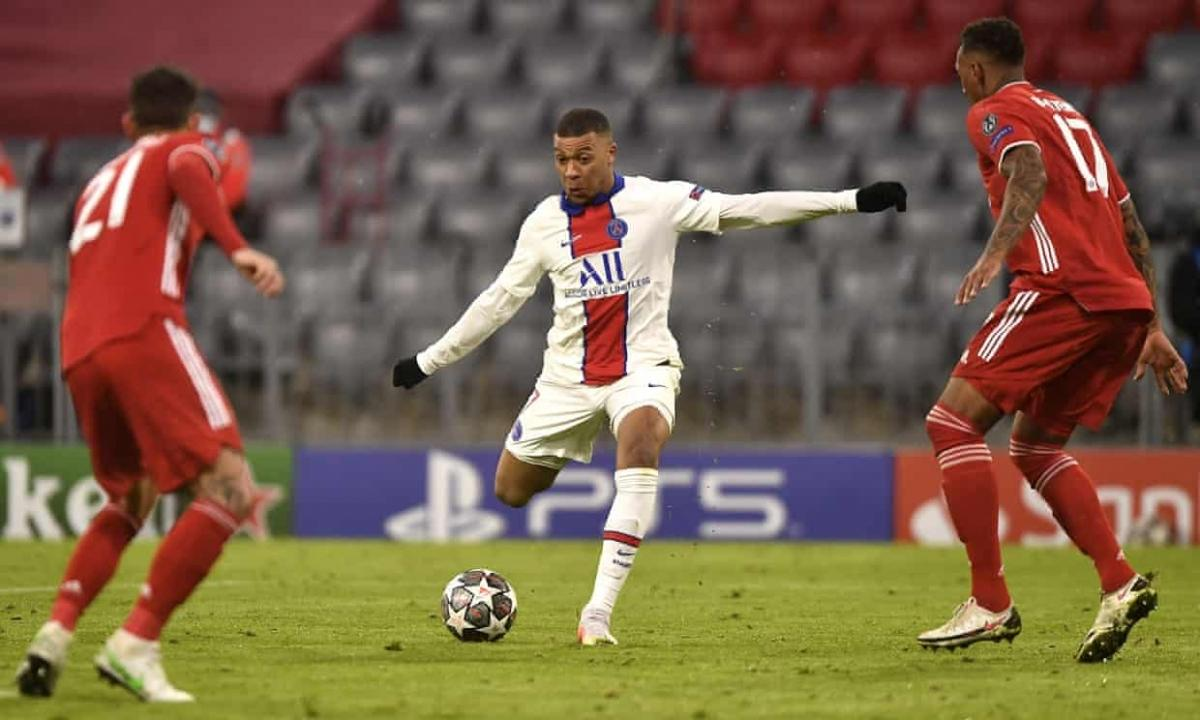 Mbappe mang về chiến thắng 3-2 cho PSG. (Ảnh: Getty)