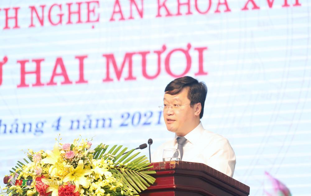Đồng chí Nguyễn Đức Trung - Phó Bí thư Tỉnh uỷ, Chủ tịch UBND tỉnh đo