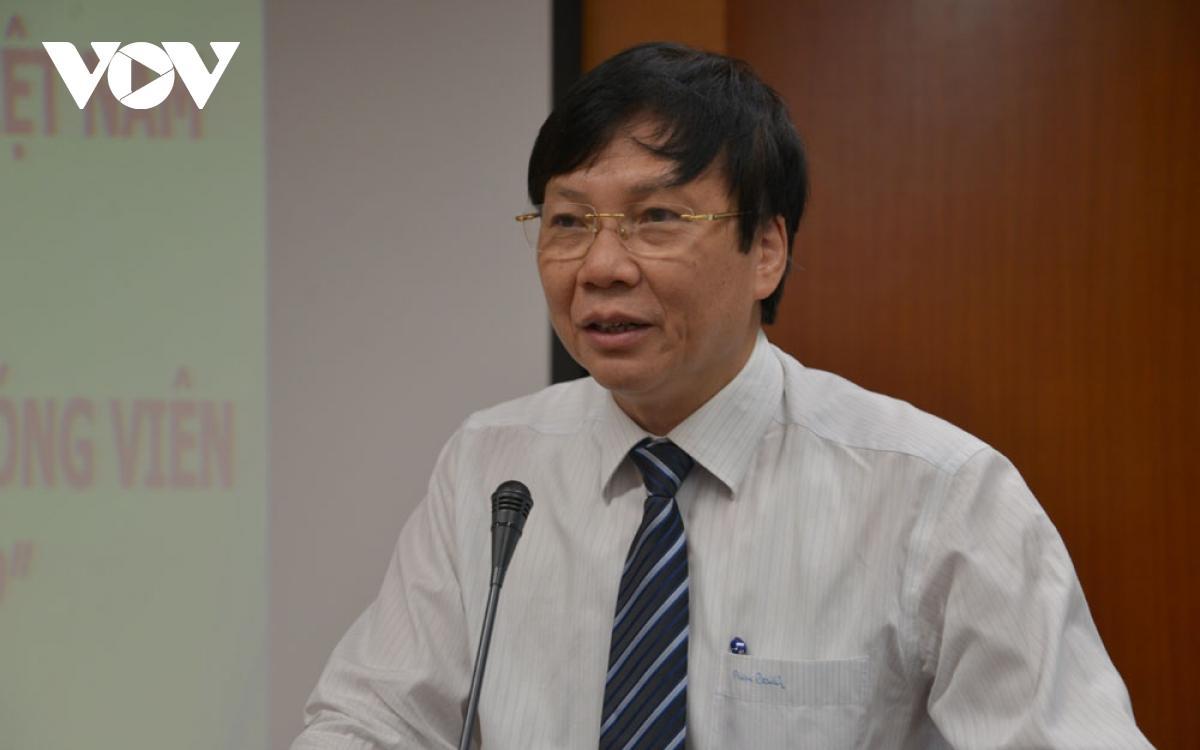 Ông Hồ Quang Lợi,Phó Chủ tịch thường trực Hội Nhà báo Việt Nam, Phó Chủ tịch Hội đồng Giải báo chí Quốc gia 2020.