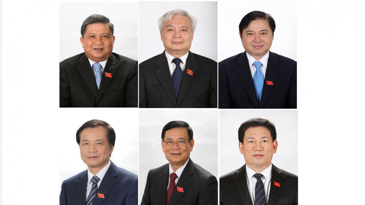 Các nhân sự vừa được Quốc hội miễn nhiệm