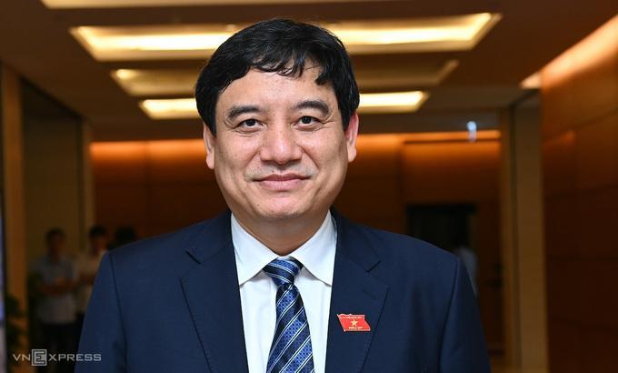 Tân Chủ nhiệm Ủy ban Văn hóa, Giáo dục, Thanh niên, Thiếu niên, Nhi đồng Nguyễn Đắc Vinh.