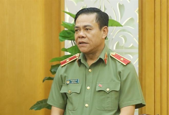Thiếu tướng Võ Trọng Hải