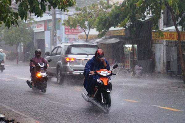 Thanh Hóa đến Hà Tĩnh có mưa to đến rất to.