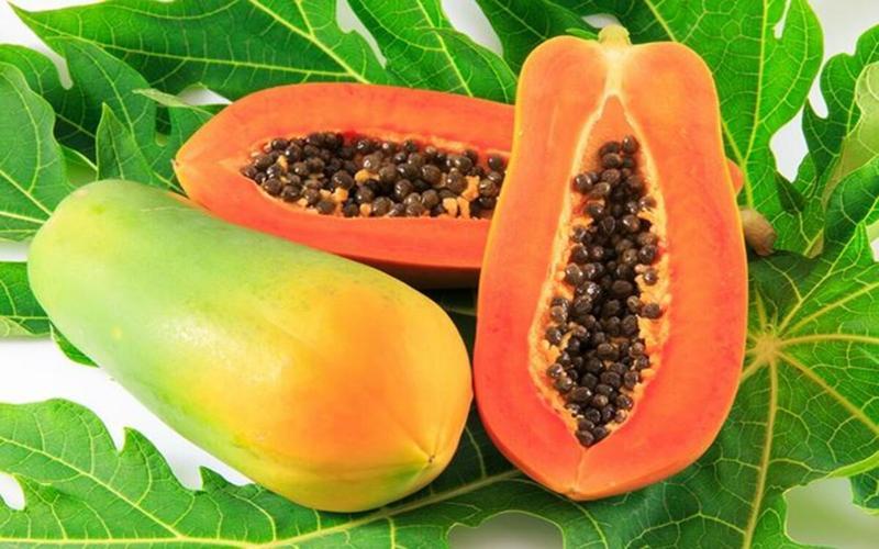 Đu đủ: Loại trái cây nhiệt đới này là nguồn vitamin C tuyệt vời. Chỉ cần một phần đu đủ mỗi ngày cũng cung cấp đủ lượng vitamin C cần thiết để hoạt động thích hợp.