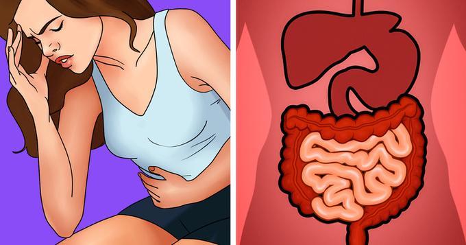 Táo bón  Khi ăn, cơ thể sẽ tiêu thụ nhiều hóa chất đi kèm như chất bảo quản, chất tạo màu và hương liệu nhân tạo. Những độc tố này tích tụ có thể dẫn đến đau dạ dày và táo bón.