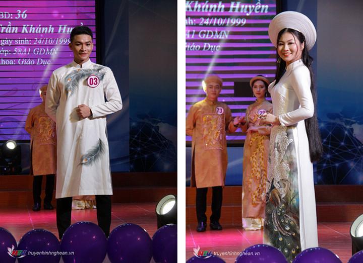 Cặp đôi: Lê Hữu Sơn - Trần Khánh Huyền