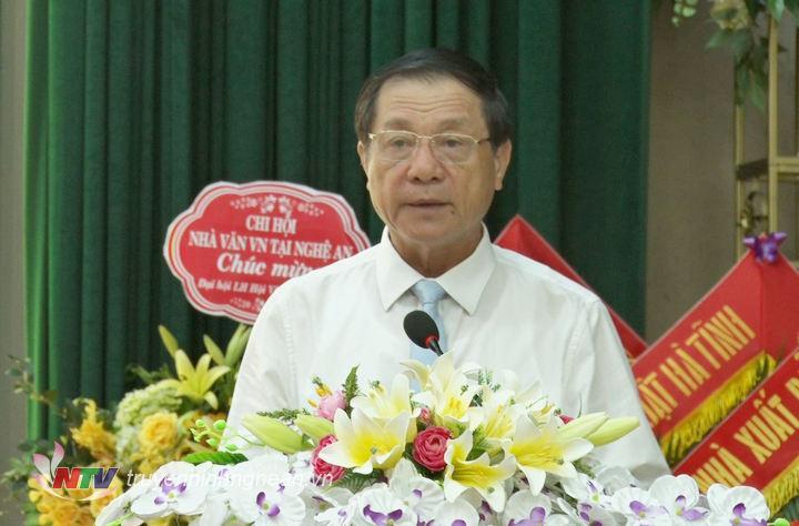 Phó Chủ tịch UBND tỉnh Lê Minh Thông phát biểu chỉ đạo tại Đại hội.